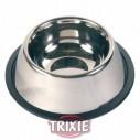 Trixie Comedero acero inoxidable, orejas largas.