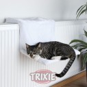 Trixie Hamaca radiador, Peluche, 45x24x31 cm, borreguillo