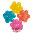 Trixie 4 Pelotas caucho, multiformas ø 3.5 cm, multicolor
