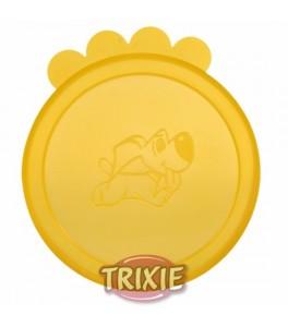 Trixie 3 Tapas botes comida húmeda, 7 cm