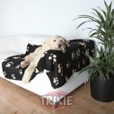 Trixie Manta afelpada Barney, 150x100 cm, Negro/Beige