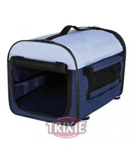 Trixie Caseta desmontable, talla 2 azul oscuro/beige para perro