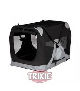 Trixie Caseta desmontable, talla M azul/gris para perro
