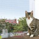 Trixie Red protección, 2x1.5 m, Negro