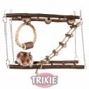 Trixie Puente Colgante Natural Living para roedores, 27×17×7 cm