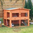 Trixie Caseta Natura para roedores, 2 compartimentos, 135×115x112 cm