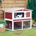 Trixie Caseta Natura con recinto para roedores, 123×96×76 cm